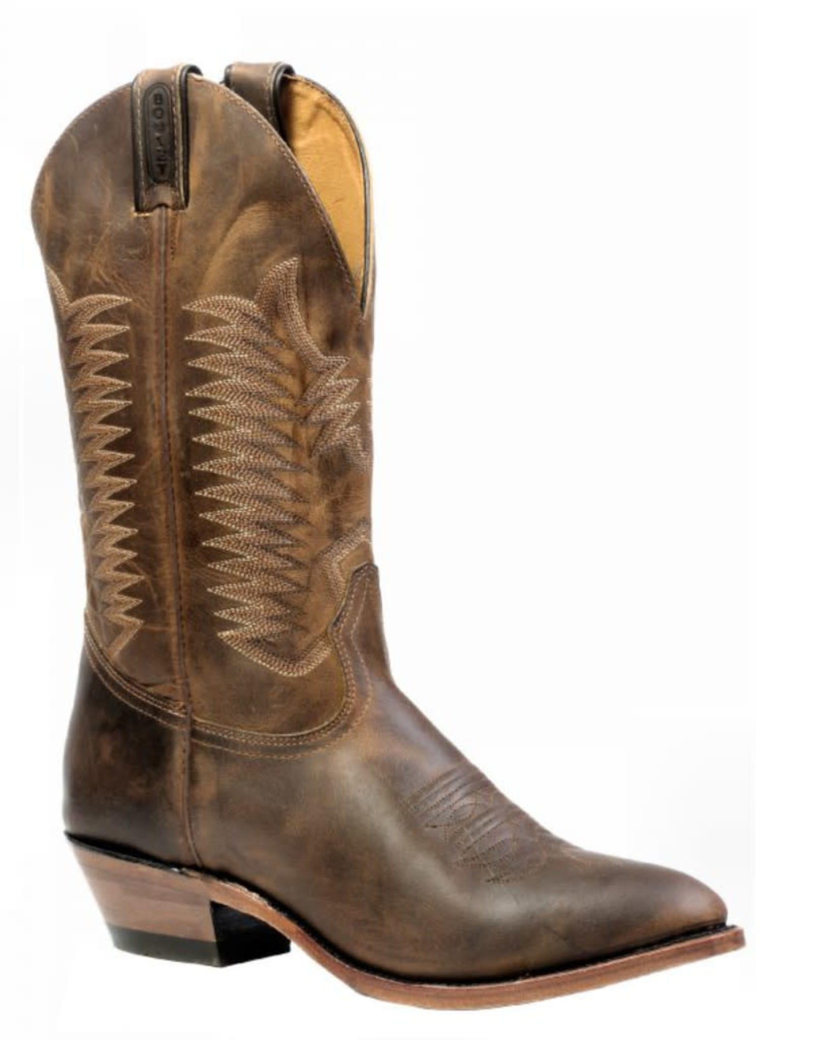 Boulet Boulet Leather Medium Cowboy Toe Boots