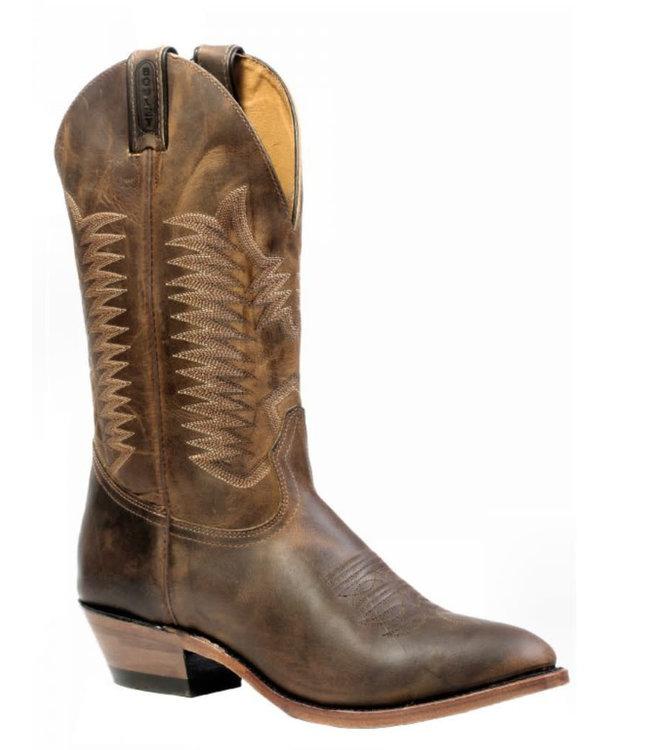 Boulet Leather Medium Cowboy Toe Boots