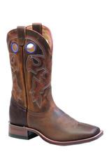 Boulet Boulet Leather Square Toe Boots