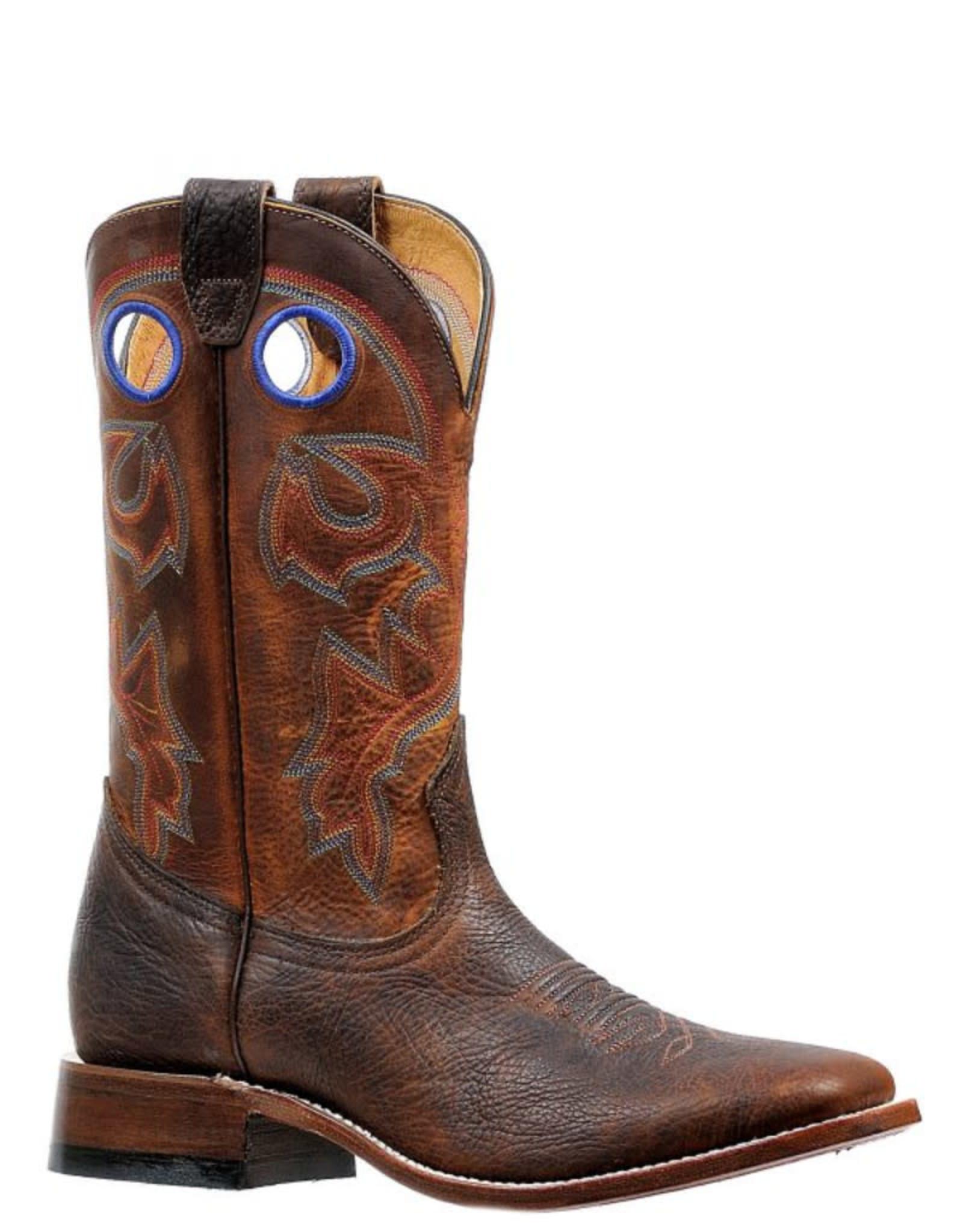 Boulet Boulet Square Toe Boots w/Rider Sole