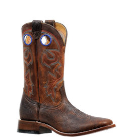 Boulet Square Toe Boots w/Rider Sole