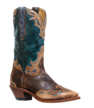 Boulet Snip Toe Riding Heel Boots