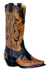 Boulet Boulet Snip Toe Leather Boots
