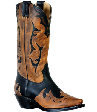Boulet Snip Toe Leather Boots