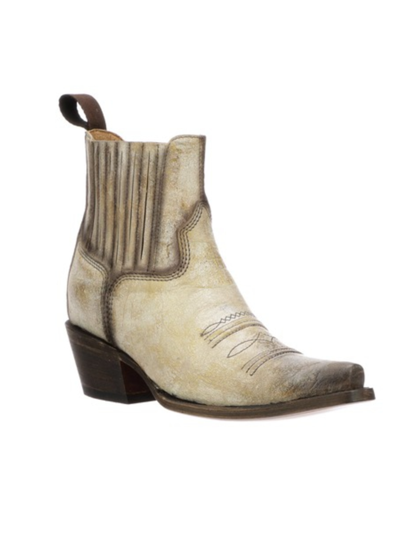 Lucchese Lucchese Cleo, Moto Shorty Boot, 9B