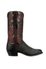 Lucchese Nathan, Smooth Ostrich Boots