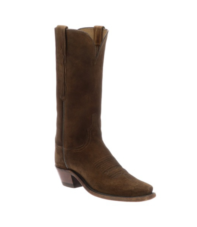 Lucchese Eleanor Suede Boots