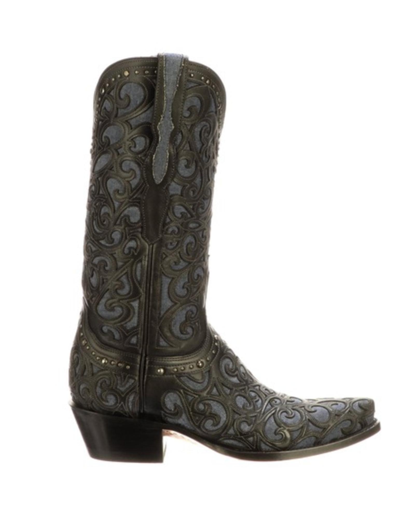 Lucchese Sierra, Top Grain Cowhide Boots