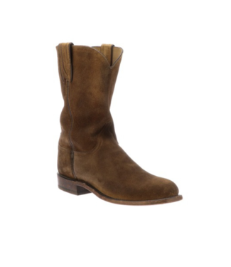 Lucchese Lincoln, Suede Roper Boots