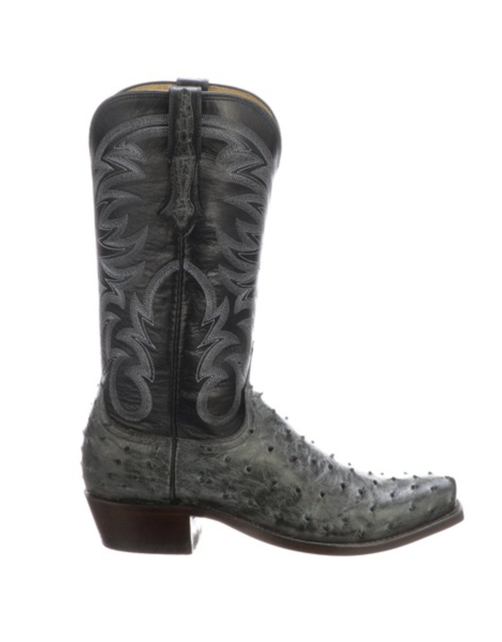 Lucchese Hugo, Full Quill Ostrich Boots