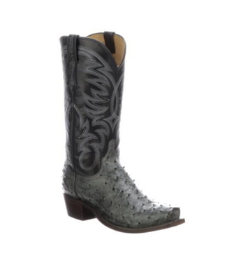 Lucchese Hugo Full Quill Ostrich Boots