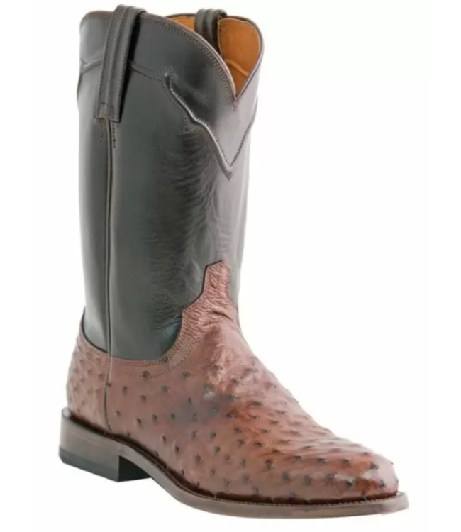 Lucchese Full Quill Ostrich Boots: 10D