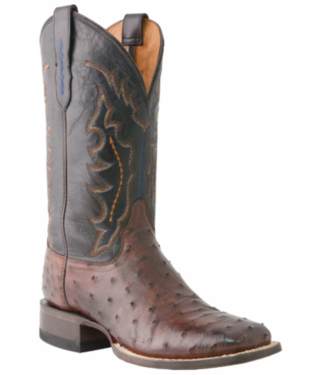 Lucchese Classic Full Quill Ostrich Boots, 10D