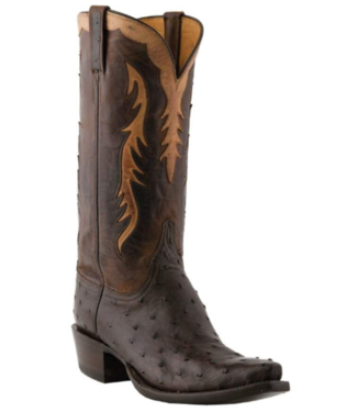 Lucchese Classics Full Quill Ostrich Boots
