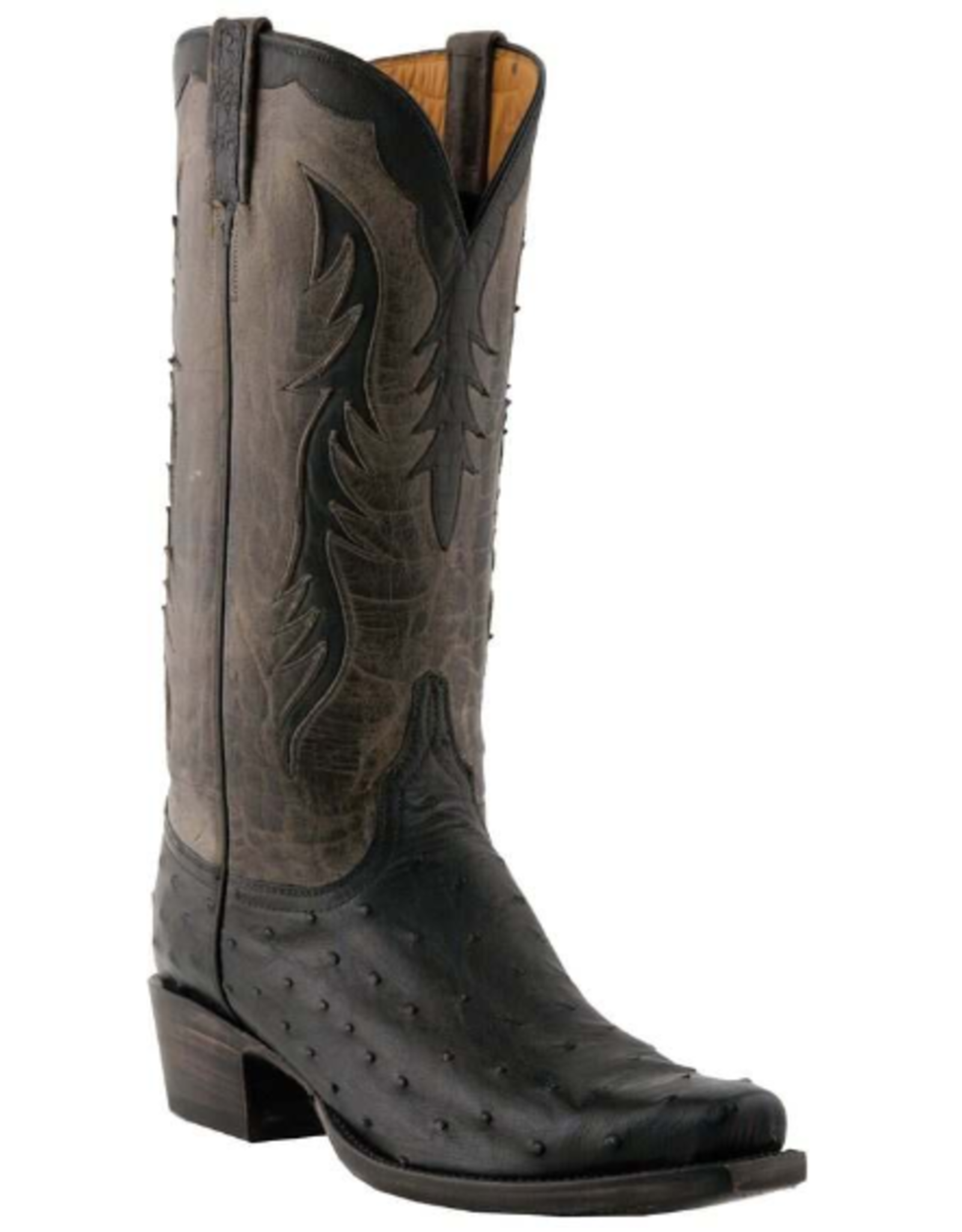 Lucchese Lucchese Classic Full Quill Ostrich Boots, 9.5D