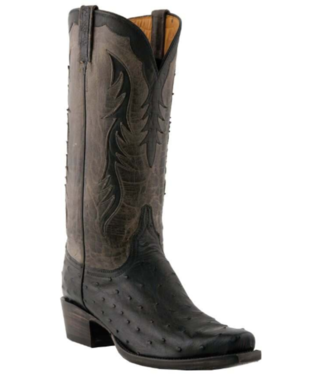 Lucchese Classic Full Quill Ostrich Boots, 9.5D