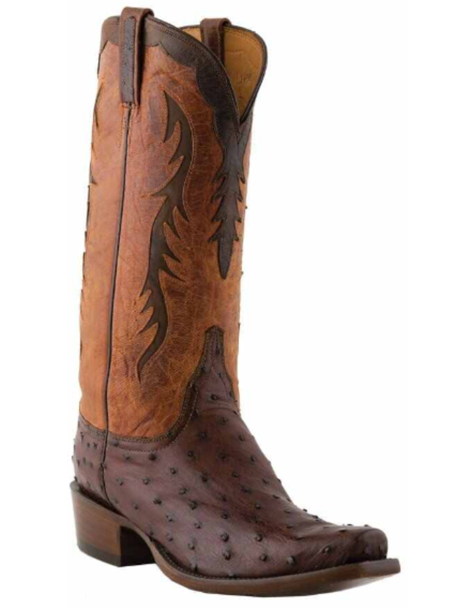 Lucchese Lucchese Classic Full Quill Ostrich Boots, 11D