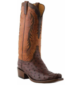 Lucchese Classic Full Quill Ostrich Boots, 11D