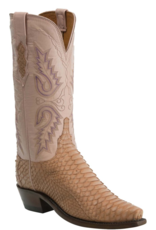 Lucchese Pastel Python Boots