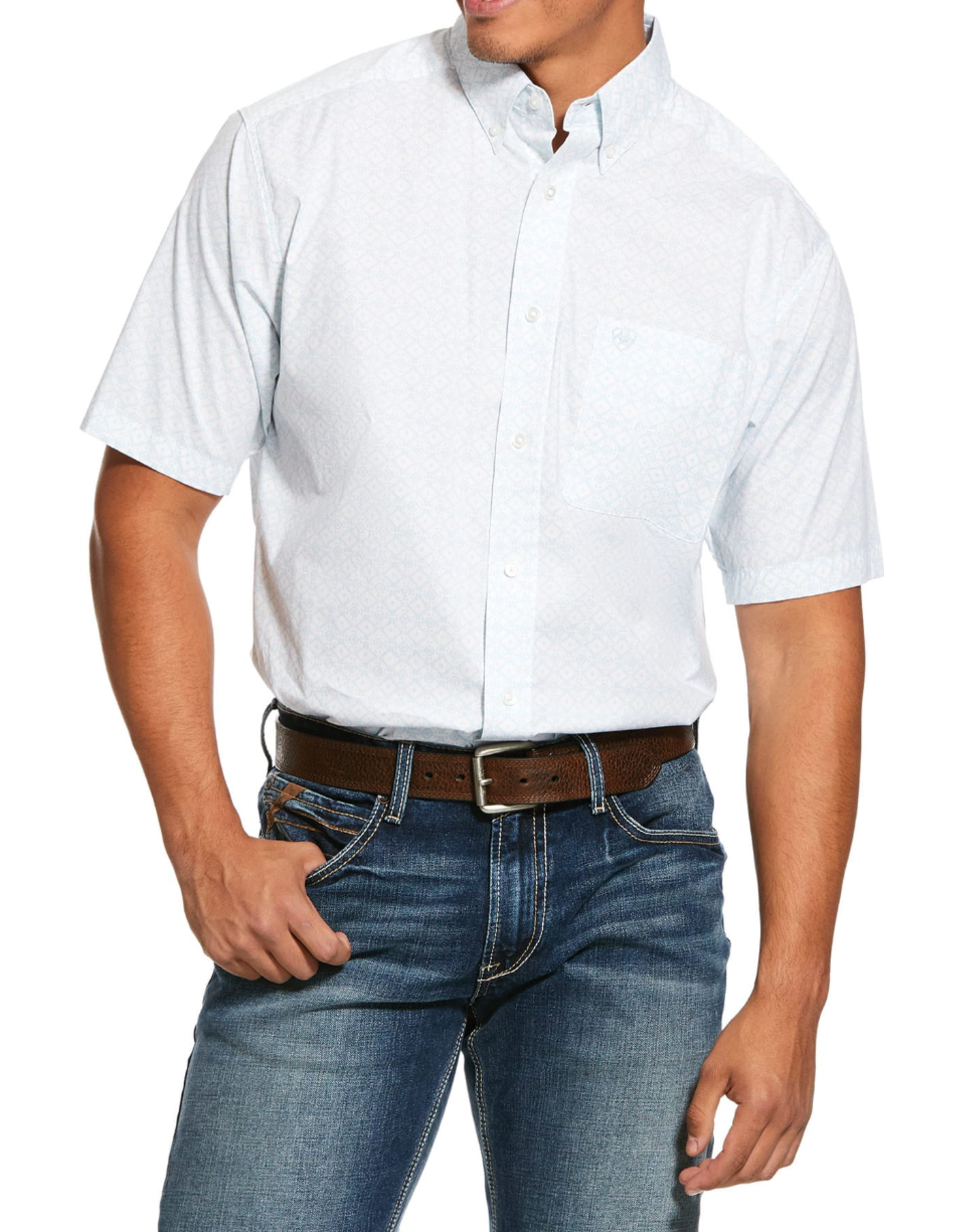 Ariat Ariat Nothell Print Stretch Classic Fit Shirt