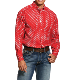 Ariat Nelton Print Stretch Classic Fit Shirt