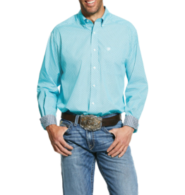 Ariat Wrinkle Free Pasadena Print Classic Fit Shirt
