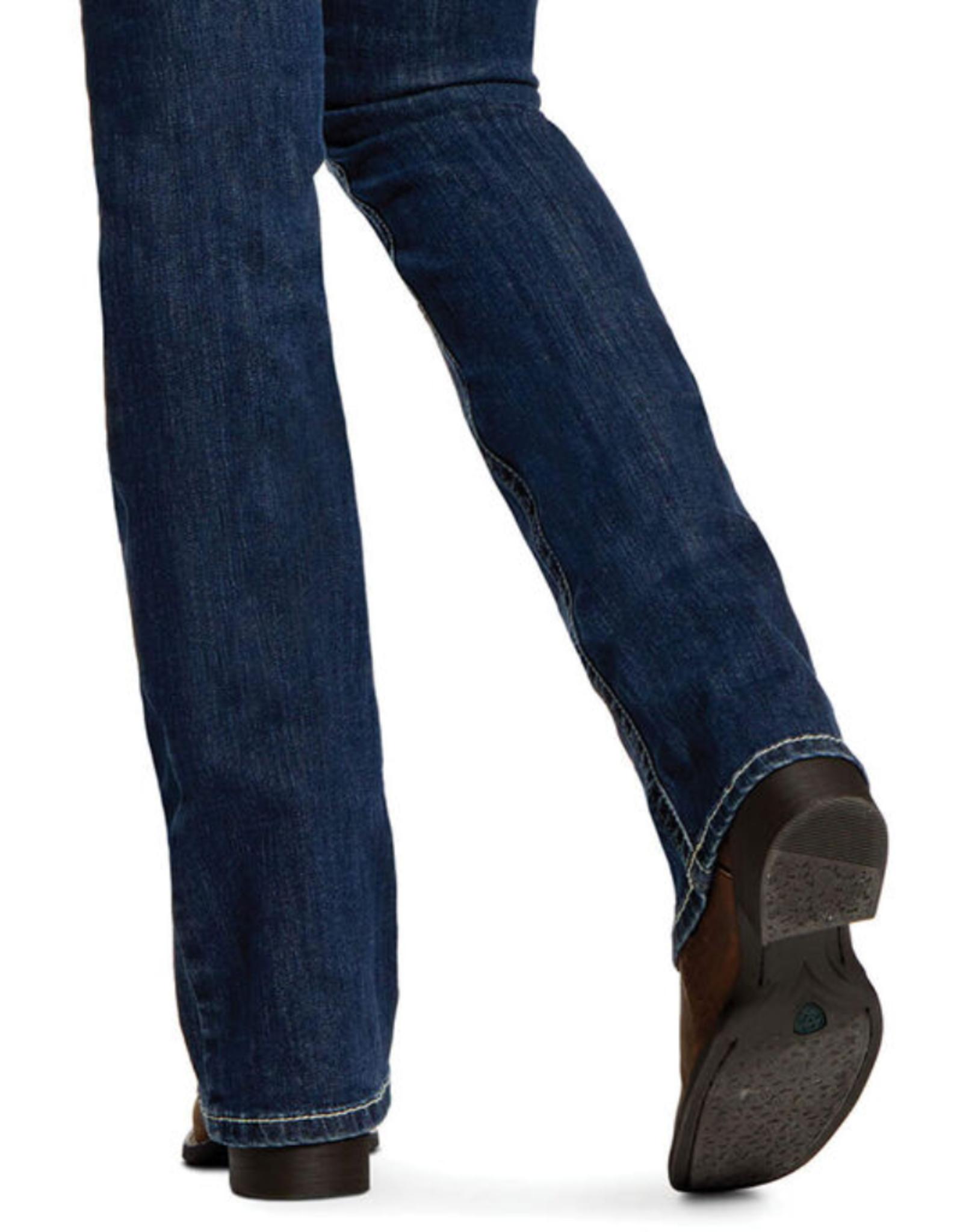 Ariat Ariat R.E.A.L. Mid Rise Stretch Festival Boot Cut Jean