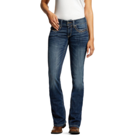 Ariat R.E.A.L. Mid Rise Stretch Festival Boot Cut Jean
