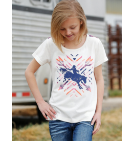 Cinch Girls Southwest Print Tee