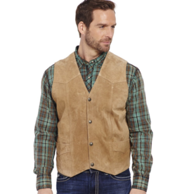 Cripple Creek Suede Leather Vest