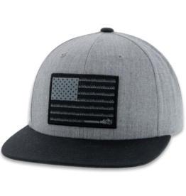Hooey Liberty Roper Snapback Cap, Gray