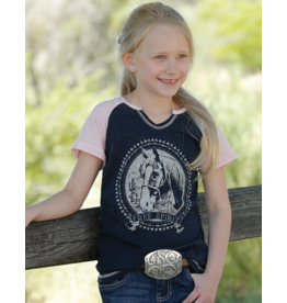 Cinch Girls Free Spirit Raglan Tee