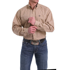 Cinch Bison Print Button Western Shirt