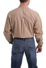 Cinch Cinch Bison Print Button Western Shirt