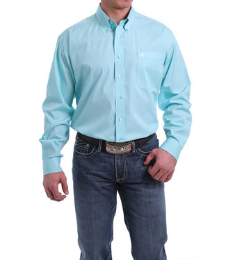 Cinch Solid Button Western Shirt