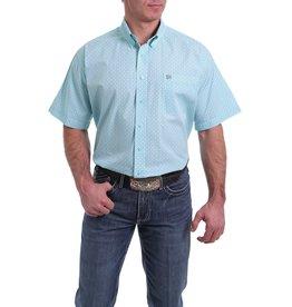 Cinch Geometric Print Button Western Shirt