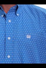 Cinch Cinch Geometric Print Button Shirt