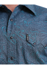 Cinch Cinch Paisley Print Snap Western Fitted Shirt