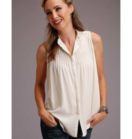 Stetson & Roper Apparel Sleeveless Solid Rayon Top