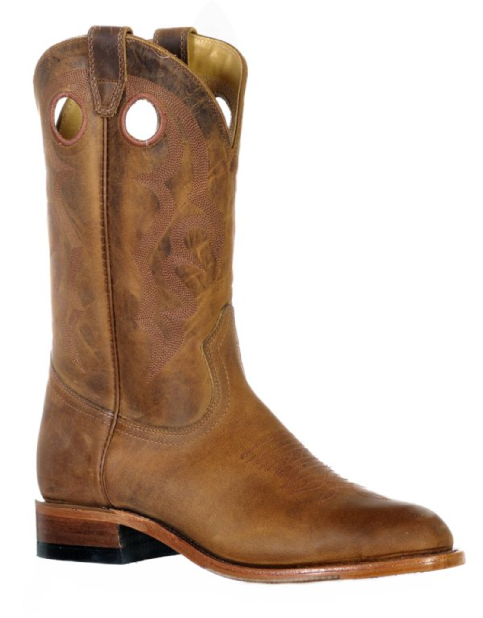 Boulet Boulet Round Toe Roper Boots