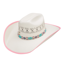 Stetson Hats Youth Gracie Jr Straw Hat: One Size