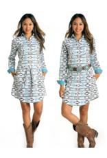 Panhandle Slim Panhandle Slim Print Snap Dress