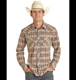 Panhandle Slim RRCB Plaid Snap Shirt