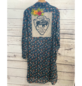 Montana Clothing Co Long Floral Duster