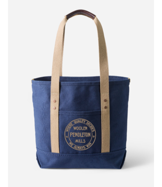 Pendleton Canvas Tote, Navy