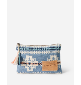 Pendleton Chief Joseph Zip Pouch, Blue