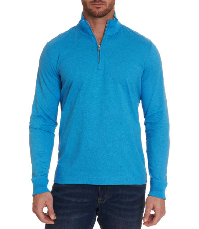 Robert Graham Triple Crown 1/4 Zip Sweater