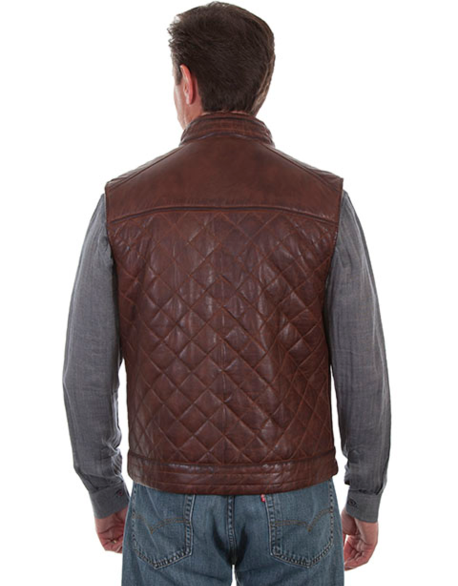 Scully Scully Quilted Leather Vest