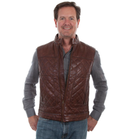 Scully Quilted Leather Vest