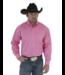 Wrangler Tough Enough to Wear Pink Solid Shirt